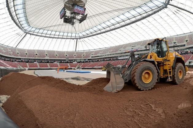 Żużlowa GP: problemy z torem na Stadionie Narodowym