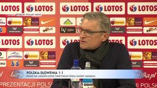 Polska-Słowenia 1:1 - remis na zakończenie świetnego roku kadry Nawałki