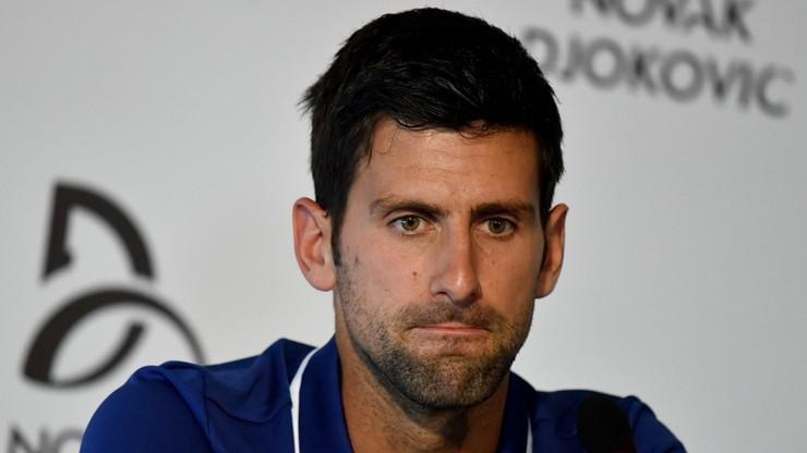 Djokovic nie zagra w Abu Zabi