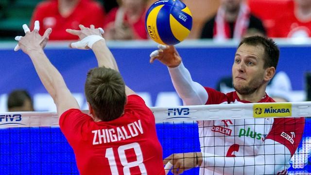 Polscy siatkarze przegrali z Rosją 0:3. De Giorgi: w kolejnych meczach zmazać porażkę z Rosją