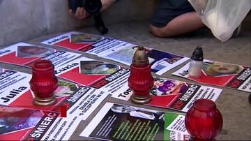 Przeciwnicy obowiązkowych szczepień protestowali w Warszawie