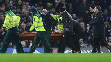 2017-01-23 Pęknięta czaszka i krwotok. Dramatyczna kontuzja w meczu Chelsea z Hull City