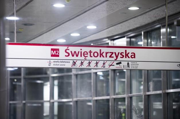 Warszawa: otwarcie II linii metra przesunięte przynajmniej o kilka tygodni