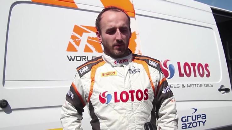 Robert Kubica przed startem Rajdu Niemiec