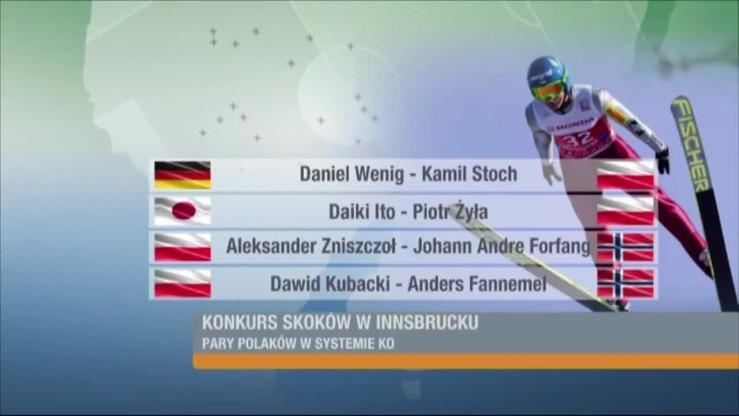Stoch i Żyła nie zawiedli. Czterech Polaków w konkursie w Innsbrucku