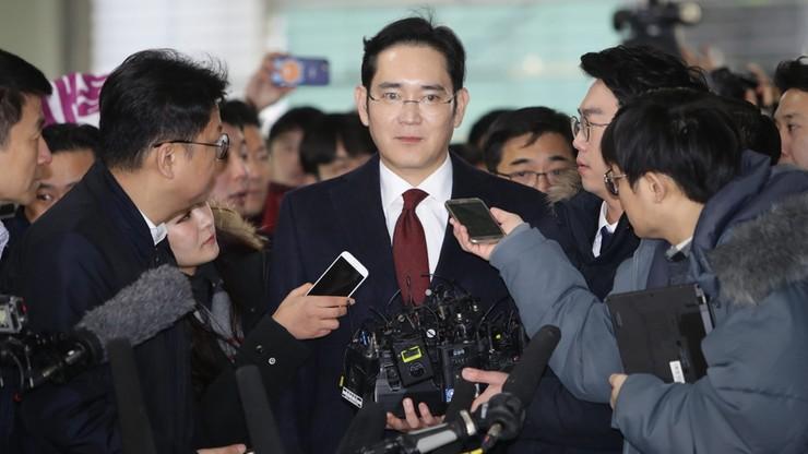 Korea Płd.: nakaz aresztowania wiceprezesa Samsunga za łapówkarstwo