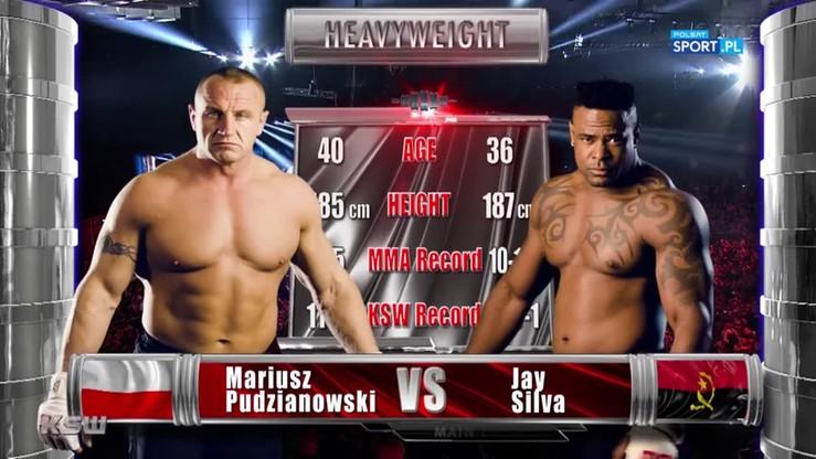 Mariusz Pudzianowski - Jay Silva. Skrót walki