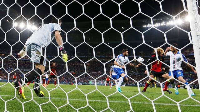 ME 2016 - Belgia - Włochy 0:2