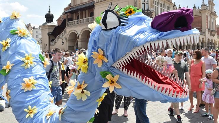 Wielka Parada Smoków przeszła przez Kraków