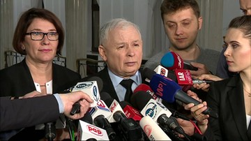 Jarosław Kaczyński po reelekcji Donalda Tuska