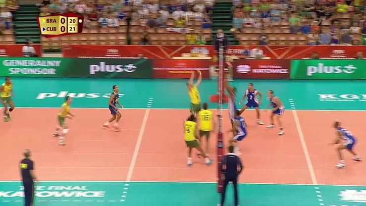 Brazylia - Kuba 3:1. Skrót meczu