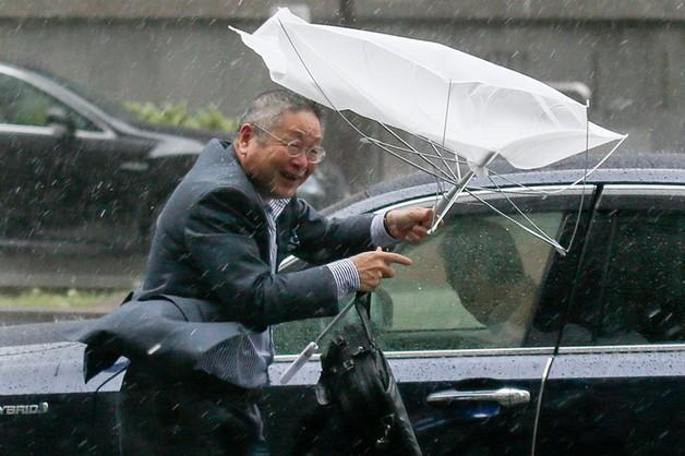 Tajfun Phanfone szaleje w Japonii