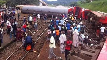 2016-10-22 Kamerun: katastrofa pociągu pasażerskiego; 55 osoby nie żyją, setki rannych