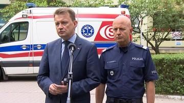 22-06-2017 15:14 Błaszczak: raniony w pościgu policjant wykazał się ofiarnością i odwagą