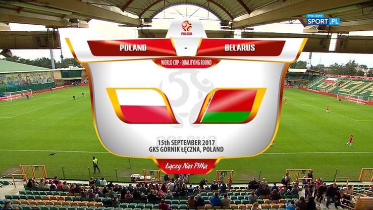 Polska - Białoruś 4:1. Skrót meczu