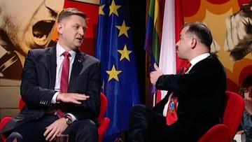 """2017-03-25 """"Człowiek Urbana"""" i """"człowiek Putina"""". Mocne oskarżenia w """"Skandalistach"""""""