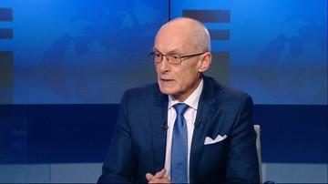 Grzegorz Dobiecki o pierwszym wystąpieniu Macrona
