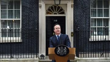 """22-02-2016 09:00 """"Financial Times"""": Cameron wypunktował zwolenników Brexitu"""