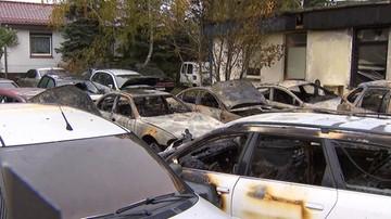 11 samochodów spłonęło w Poznaniu