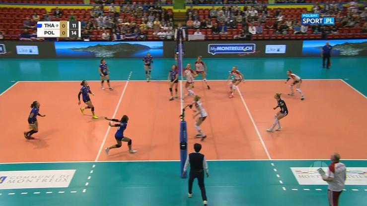 Polska - Tajlandia 3:1. Skrót meczu