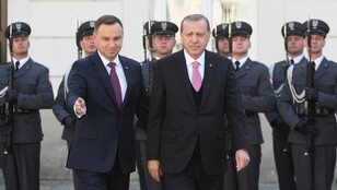 Prezydent Turcji Recep Erdogan rozpoczął wizytę w Polsce