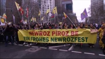 30 000 mieszkających w Niemczech Kurdów protestowało przeciwko politycznym planom Erdogana