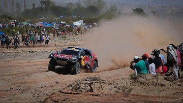 13-01-2016 23:04 Rajd Dakar: Peterhansel liderem po 10 etapach