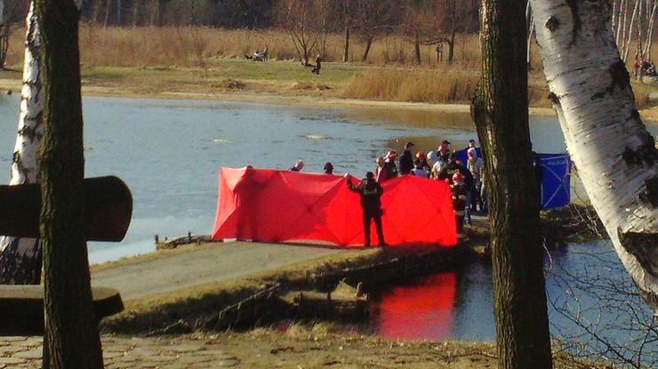 2017-03-04 Zwłoki mężczyzny znaleziono w stawie w Siemianowicach Śląskich