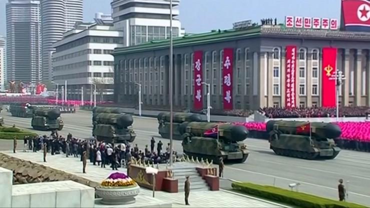 Korea Północna przeprowadziła test silnika rakietowego
