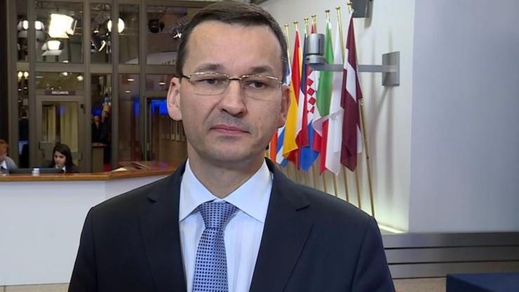 """""""Wysoki poziom wiarygodności Polski"""". Morawiecki o ratingu"""