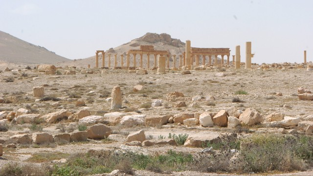 Rosja wysłała saperów do Syrii. Będą rozminowywać zabytki w Palmirze