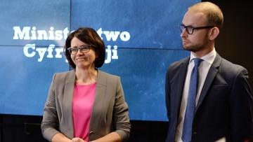 24-11-2016 19:30 Minister cyfryzacji spotkała się z przedstawicielami Facebooka