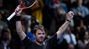 2015-11-18 ATP Finals: Wawrinka lepszy od Ferrera