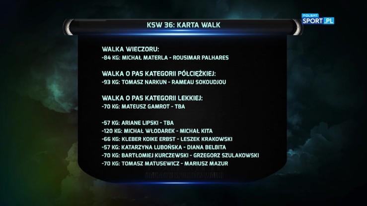 2016-08-22 KSW 36: Co nas czeka w Zielonej Górze?
