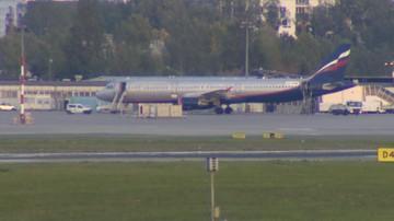 18-09-2016 16:22 Kolizja na Lotnisku Chopina. Samolot na niewłaściwej drodze kołowania