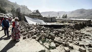 16-08-2016 06:15 Trzęsienie ziemi w Peru. Są ofiary i ranni