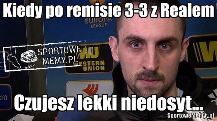 Kibice - dwunasty zawodnik Legii! Memy po meczu z Realem