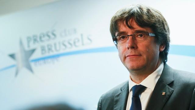 Belgia: Puigdemont i jego czterech współpracowników oddało się w ręce policji