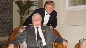 """10-11-2016 11:43 """"Moja historia była inspiracją dla Trumpa"""". Wałęsa o wyniku wyborów w USA"""