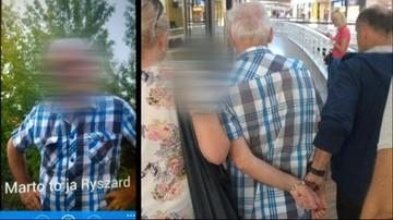 """19-09-2016 17:09 Wpadka 64-letniego pedofila. Złapali go policjanci na """"randce"""" z 14-latką"""