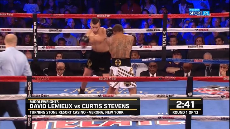 Lemieux - Stevens: Skrót walki (WIDEO)