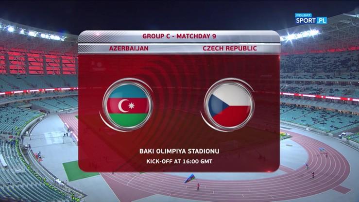 2017-10-05 Azerbejdżan - Czechy 1:2. Skrót meczu
