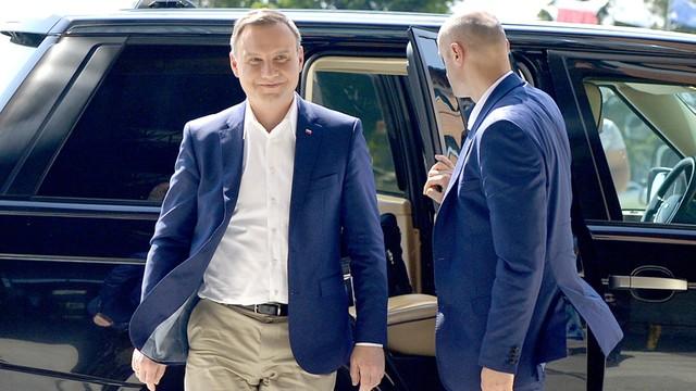 Prezydent z wizytą u piłkarzy w Arłamowie
