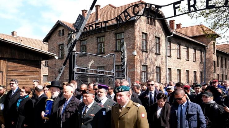 Marsz Żywych w Oświęcimiu. W hołdzie ofiarom Holokaustu