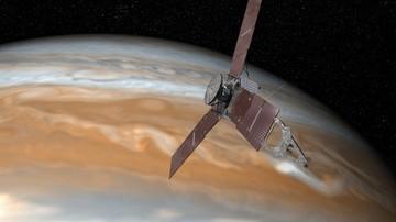 05-07-2016 10:11 Amerykańska sonda Juno weszła na orbitę Jowisza