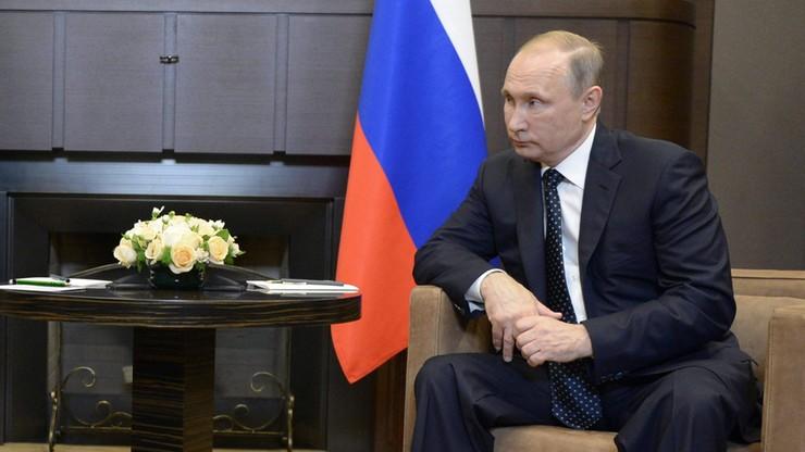"""Putin napisał do Erdogana. W sprawie """"zacieśniania współpracy antyterrorystycznej"""""""