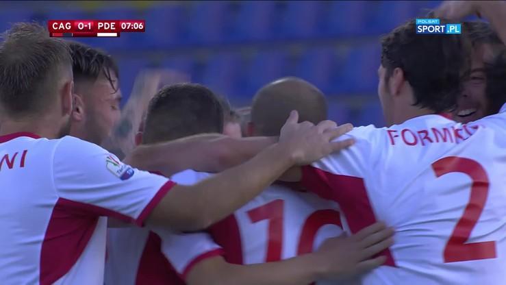 Cagliari - Pordenone 1:2. Skrót meczu