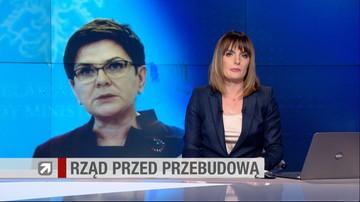 Rzecznik rządu: premier przedstawiła Jarosławowi Kaczyńskiemu plan rekonstrukcji rządu