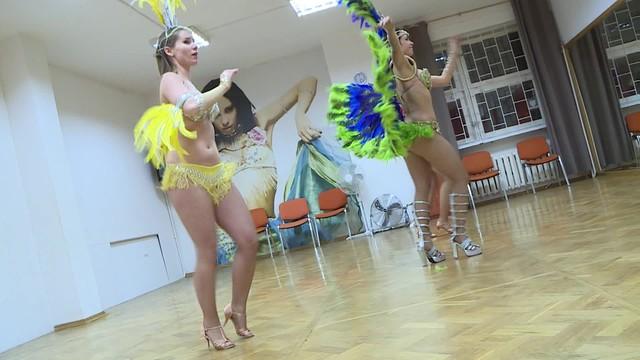 Polki zatańczą na sambodromie. Zbliża się karnawał w Rio de Janeiro
