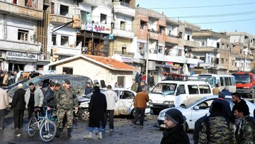 26-01-2016 11:30 Podwójny zamach samobójczy w Syrii. Co najmniej 22 zabitych i ponad 100 rannych